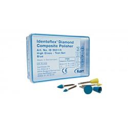 Identoflex Composite Diamond - diamantové leštiace gumičky na kompozity