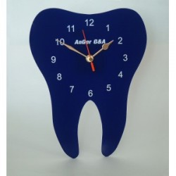 Hodiny zub ploché