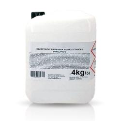 Povrchová dezinfekcia (eukalyptus) 5L