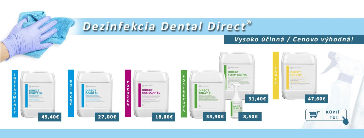 Dental Direct dezinfekcia